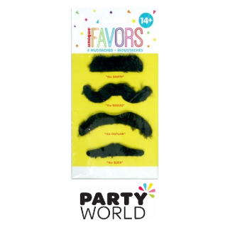 Moustaches - Assorted (4)