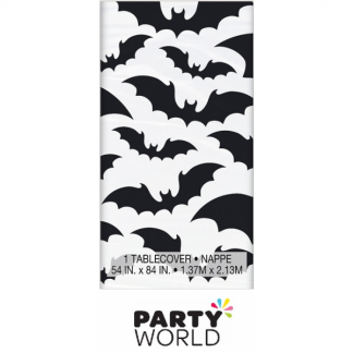 Black Bat Party Tablecover