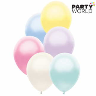 Assorted 25cm/9in Pearl Balloons (20)