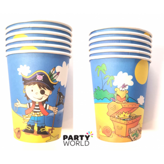 Pirate Party Paper Cups (6pk)