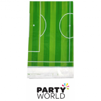 Soccer Party Plastic Table Cover