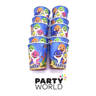 Baby Shark Party Paper Cups (10)