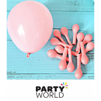 Pastel Pink 12cm/ 5inch mini Latex Balloons (30)