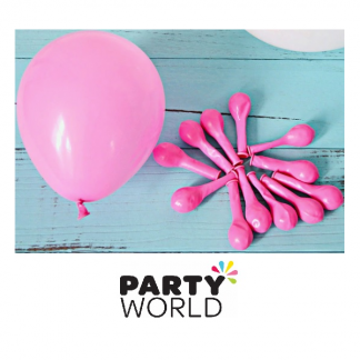 Pink 12cm/ 5inch mini Latex Balloons (30)