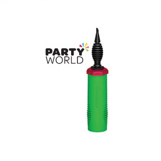 Professional Balloon Hand Pump - Green
