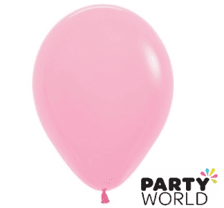 fashion pink latex balloons