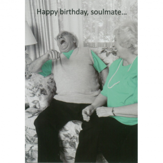 Soulmate Birthday Greeting Card