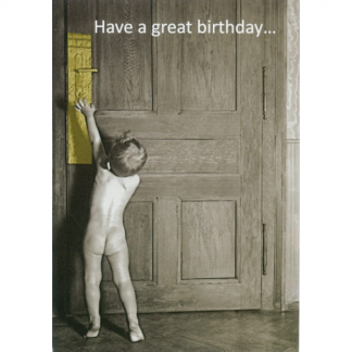 Birthday Greeting Card - Boy