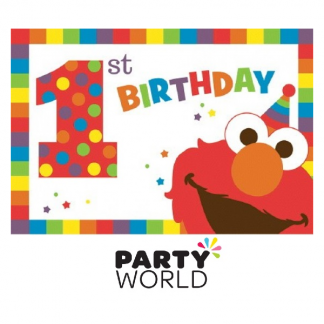 Elmo Turns One Birthday Invitations (8)