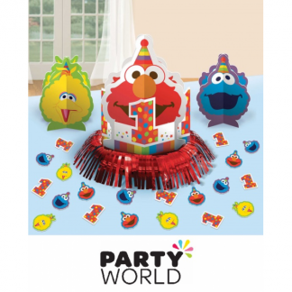 Elmo Turns One Table Decorating Kit