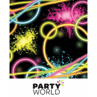 Glow Party Paper Beverage Napkins (16)
