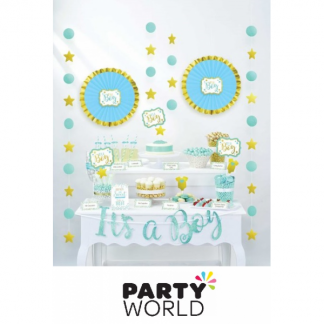 Its A Boy Baby Shower Table Decorating Kit