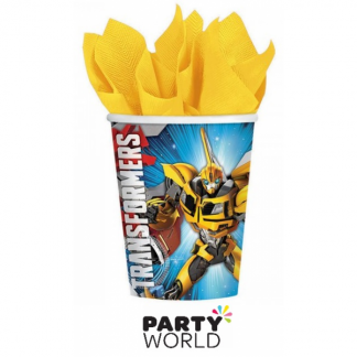 Transformers Core Paper Cups (8)