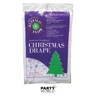 Snow-Tex Drape with Glitter 36 x 60 inch