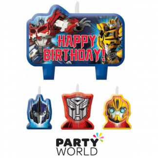 Transformers Core Birthday Candle Set
