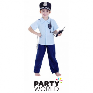 Policeman Deluxe Boy Costume 6-8 years