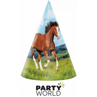 Horse And Pony Paper Party Hats (8)