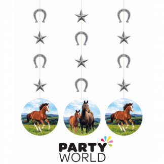 Horse And Pony Hanging String Cutouts