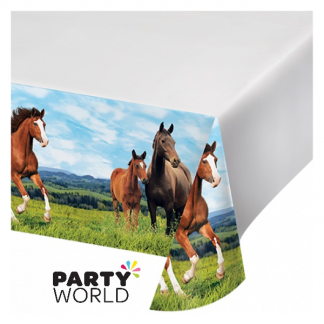 Horse And Pony Party Tablecover