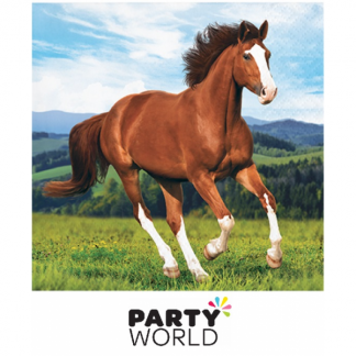 Horse And Pony Party Beverage Napkins (16)