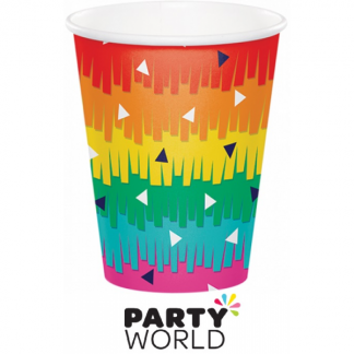 Fiesta Fun Party 9oz Paper Cups (8)