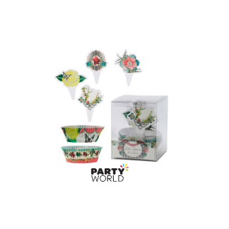 Talking Tables Vintage Cupcake Cases & Toppers (40+20)