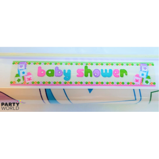 Baby Shower Neutral Giant Banner 180 x 32 cm