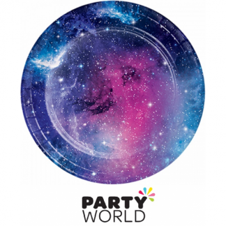 Galaxy Party Paper Plates (8)