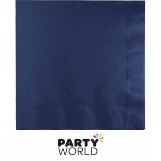 Navy Blue Luncheon Napkins (50)