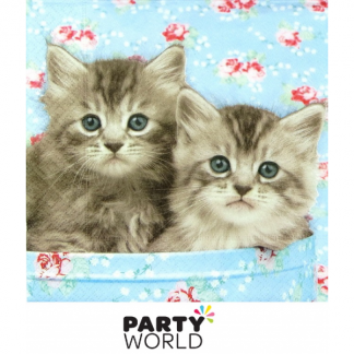 Kittens - Romeo & Julia - Luncheon Napkins (20)