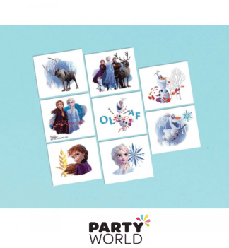 frozen party tattoos
