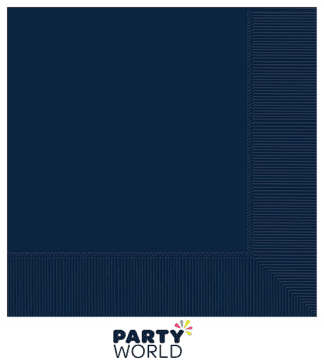 navy blue dinner napkins