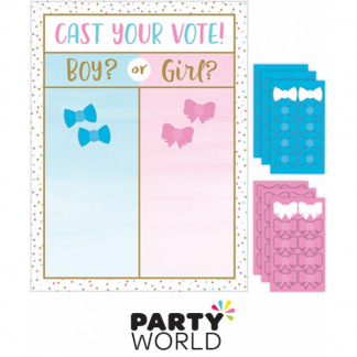 Gender Reveal Cast Your Vote Party Game