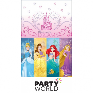 Disney Princess Dream Big Tablecover Plastic