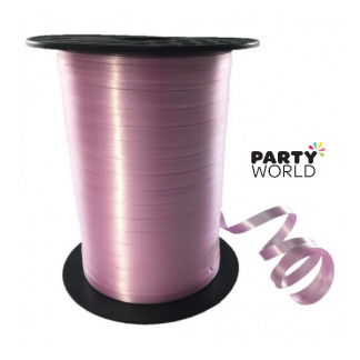 Soft Pink Curling Ribbon (500m)