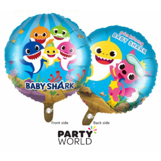 Baby Shark Foil Balloon 17inch