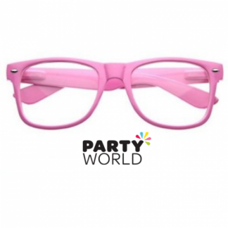 Pink Party Glasses without Lenses