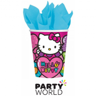 Hello Kitty Party 9oz Paper Cups (8)
