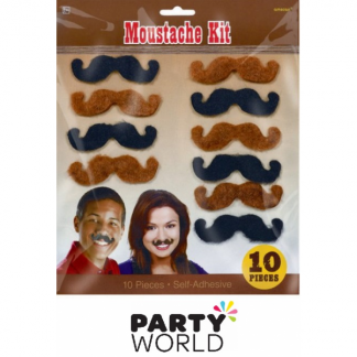 Moustache Kit - Western Party (10)