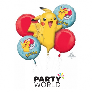 Pokemon Core Foil Balloon Bouquet (5)