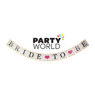 Bride To Be Segmented Card Banner