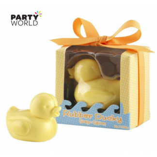 Rubber Duck Shaped Soap - Baby Shower Favor