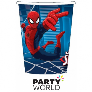 Ultimate Spiderman Party Paper Cups (8)