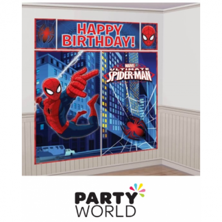 Ultimate Spiderman Party Scene Setter