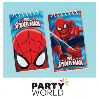 Ultimate Spiderman Party Notepads (6)