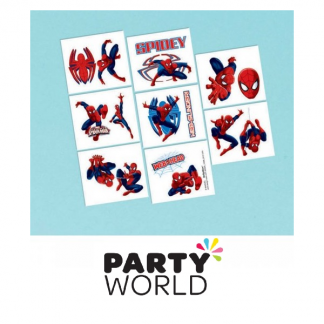 Ultimate Spiderman Party Tattoos (16)