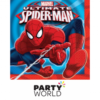 Spiderman Luncheon Napkins (16)