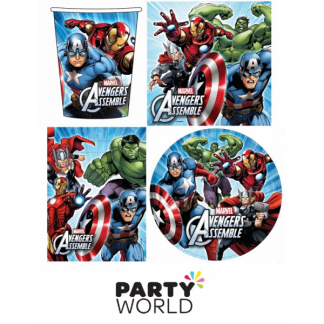 Avengers Assemble Party Pack (40pces)