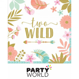 Boho Two Wild Luncheon Napkins (16)