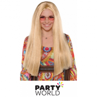 Long Blonde Ladies Wig